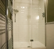 Lackland double en-suite room shower
