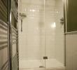 Lackland double en-suite room shower