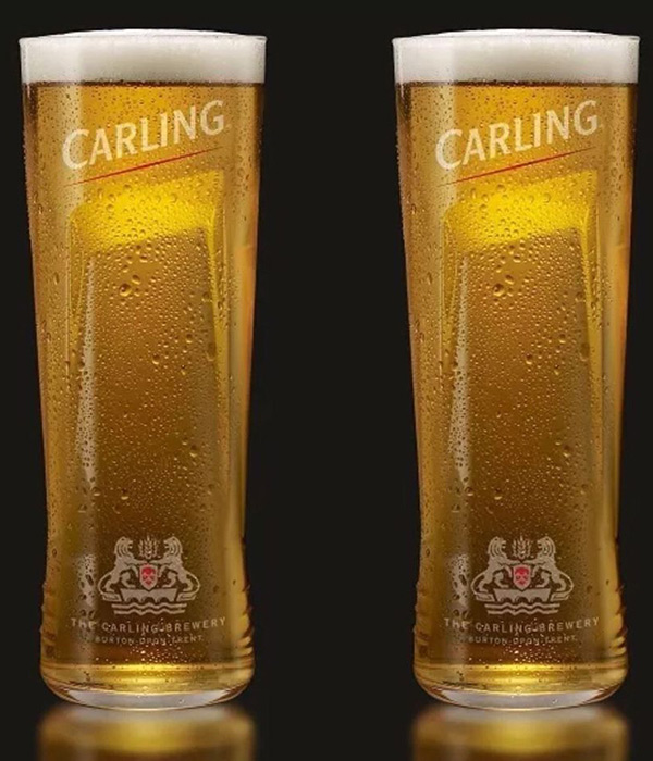 Carling has been Britain's best selling lager for more than three decades. It is brewed to have the perfect balance of sweetness & bitterness ensuring it is as brilliantly refreshing from the first sip to the last.