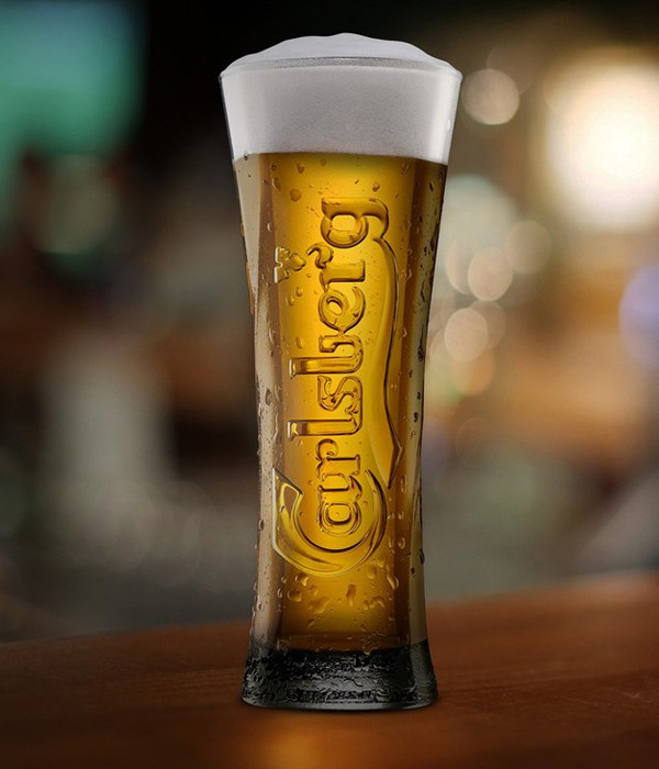 Carlsberg is a Pilsner style lager originating from Copenhagen, Denmark. Carlsberg is light, easy drinking and refreshing. The all malt recipe and Carlsberg yeast strain gives the balance between body and depth of flavour and a clean refreshing palate.
